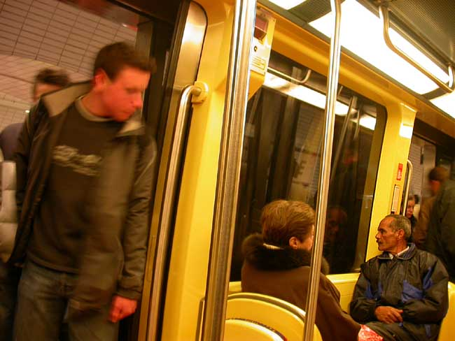 Métro - avril 2005 - Toulouse